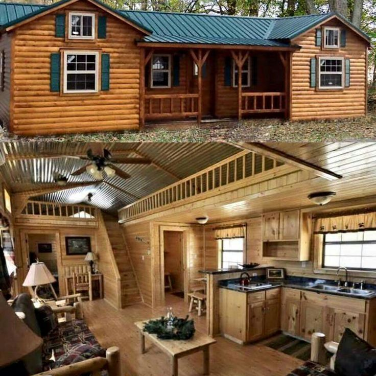 Small Log Cabin Kit Homes Small Log Cabin Floor Plans: Pinterest • The World's Catalog Of Ideas