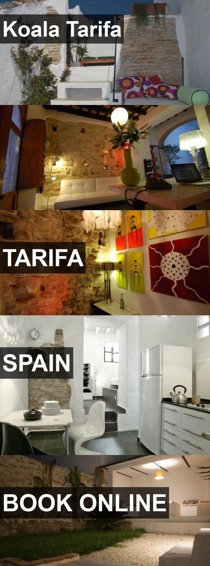 Hotel Koala Tarifa in Tarifa, Spain. For more information, photos, reviews and best prices please follow the link. #Spain #Tarifa #travel #vacation #hotel