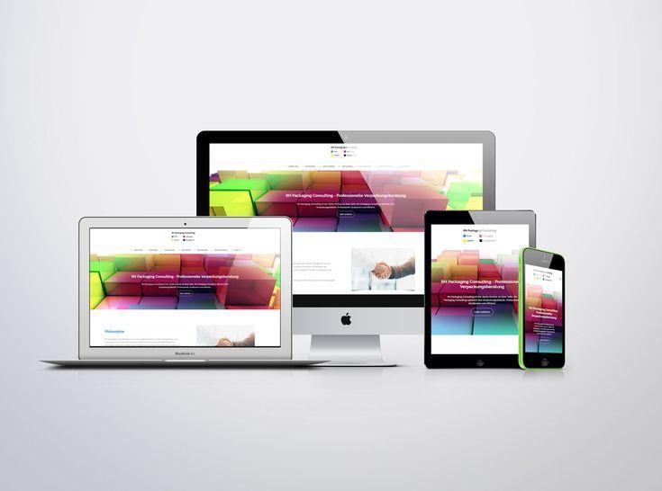 Wordpress Website with responsive design