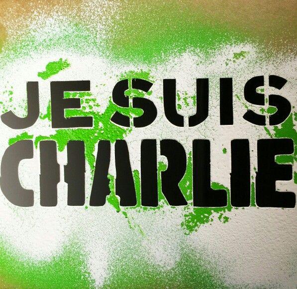 #jesuischarlie #c215 #freedomofspeeh #marcherepublicaine #paris #streetart