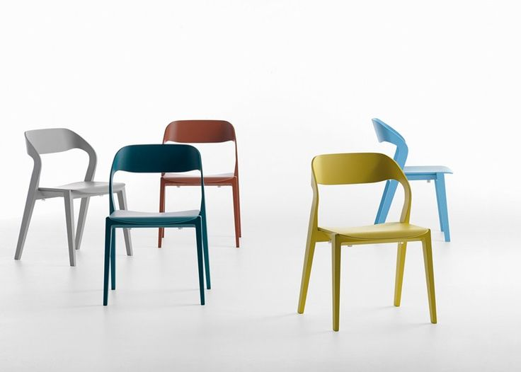 Stackable wooden chair MIXIS | Chair - Crassevig
