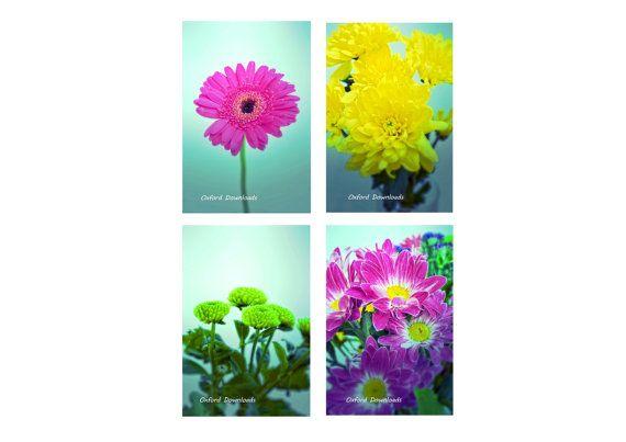 Floral Printable Photography Floral Prints by OxfordDownloads