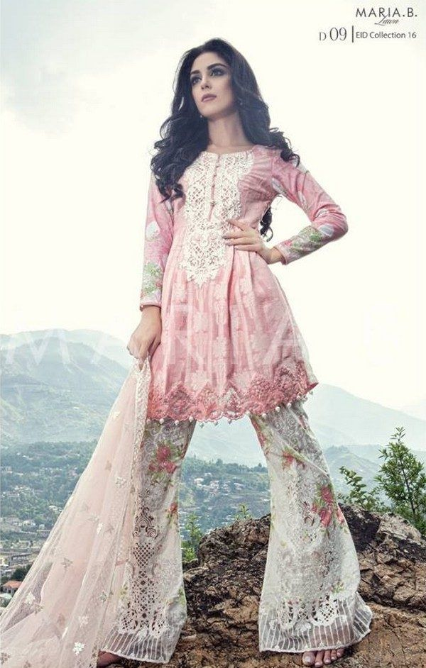 Maria B Party wear Eid Collection 2016 For Women #MARIA.B #EIDLawnCollection…