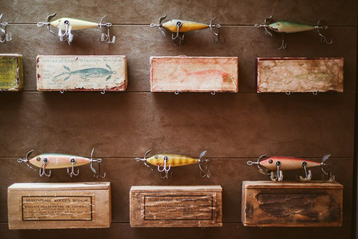 Frank's World Class Antique Shakespeare Fishing Tackle and Lure Collection - Fishing Lure Collector
