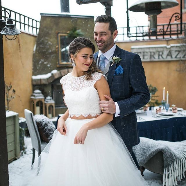#EWGroom Navy and cobalt blues go together like salt and pepper! 📸 : @jraeweddings Photography @sofiakatherinephotography  Design and Styling @jraeweddings  Venue @bonterracalgary  Floral @amborellafloralstudio  Furniture @cfinteriordesign  Stationary and Paper goods @createlove.design  Rentals @gatheredtablesupply  Linens @bellalinens  Custom cake @handmadecakecompany  Favors and Brownies @justonebitebrownies  Bridal Makeup and Hair @avebeauty  Wedding Dress @noviamiabridal  M