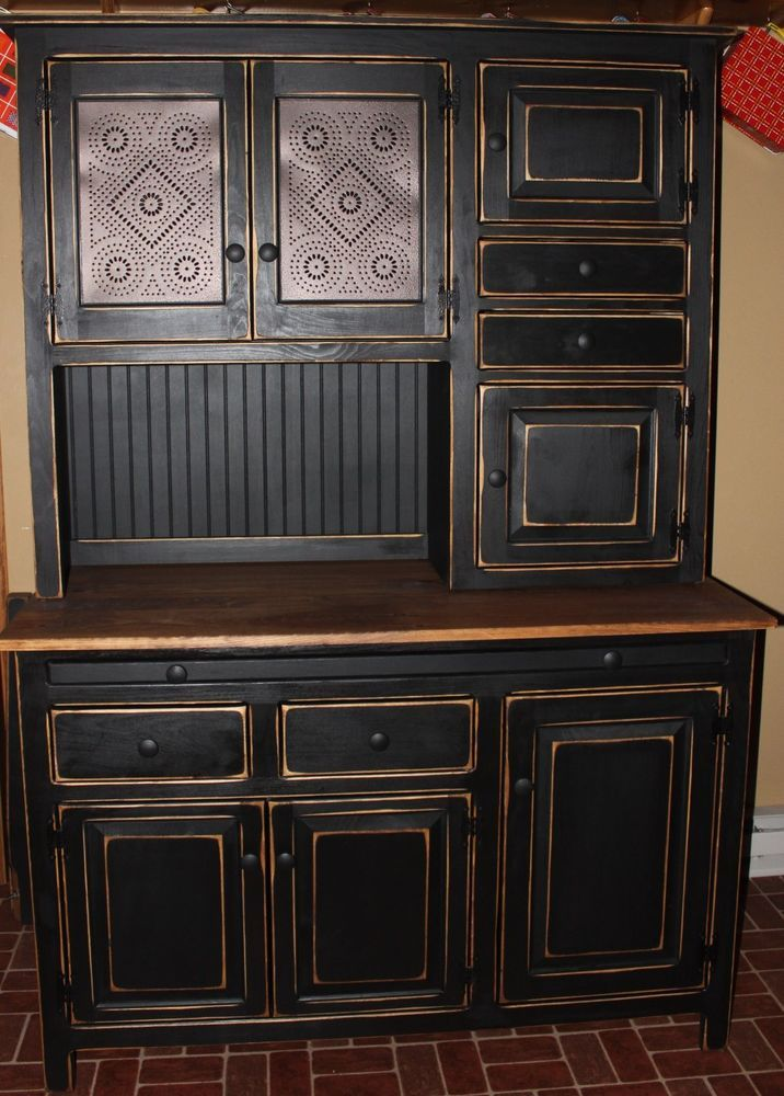 1000 ideas about primitive hutch on pinterest hoosier for Cupboards and cabinets