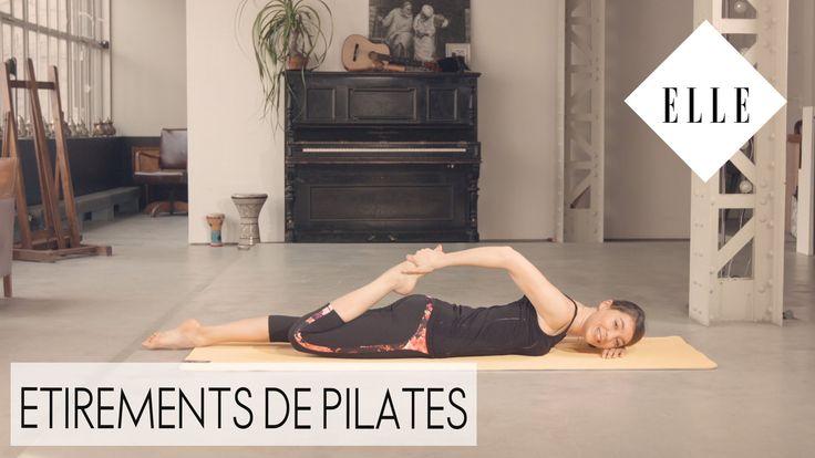 Etirements de pilates┃ELLE Pilates