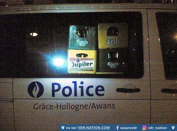 VDR NATION : Police Belge