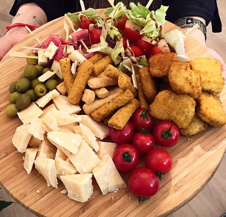 Appetizers for wine nights