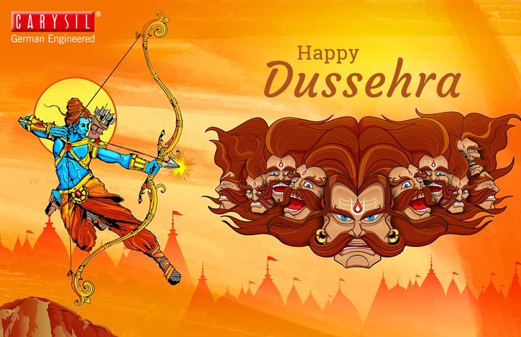 Carysil wishes you all a very Happy Dussehra. Let the good always win!!