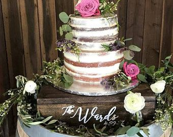 Best 25+ Rustic cake tables ideas on Pinterest | Cake tables for ...