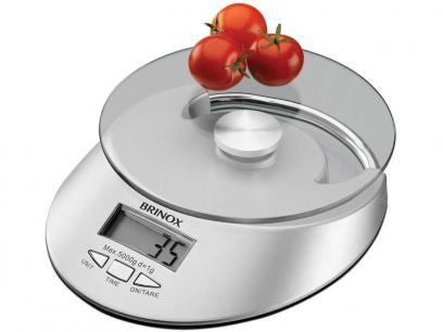 Balança Digital para Cozinha 5kg com Função Tara - Brinox 2923/101 com as melhores condições você encontra no Magazine Linhatotal. Confira!