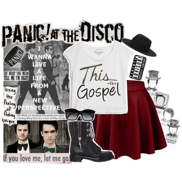 """Panic! At The Disco"" by yerd213 on Polyvore"