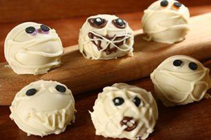 Mummy Cookie Balls #recipe