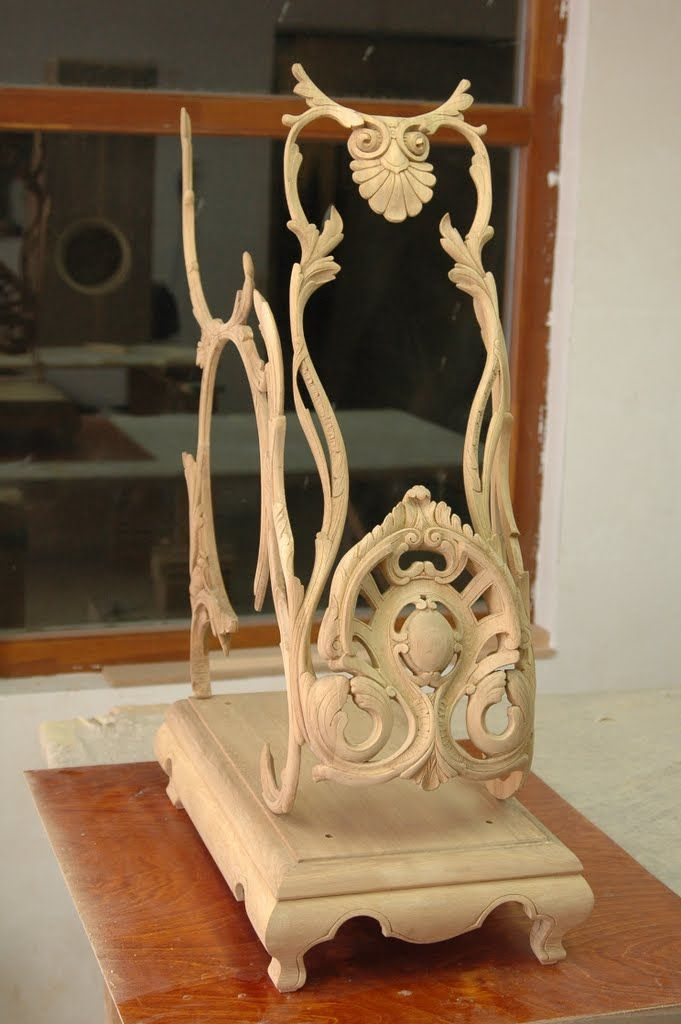 Hand Carved.
