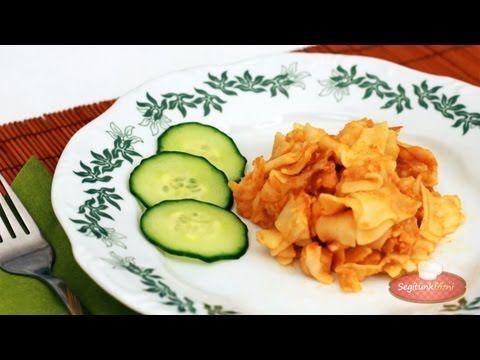 Krumplis tészta videó recept