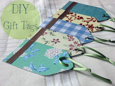 Put the extra-special personal touch on your gift giving- DIY gift tags reuse…