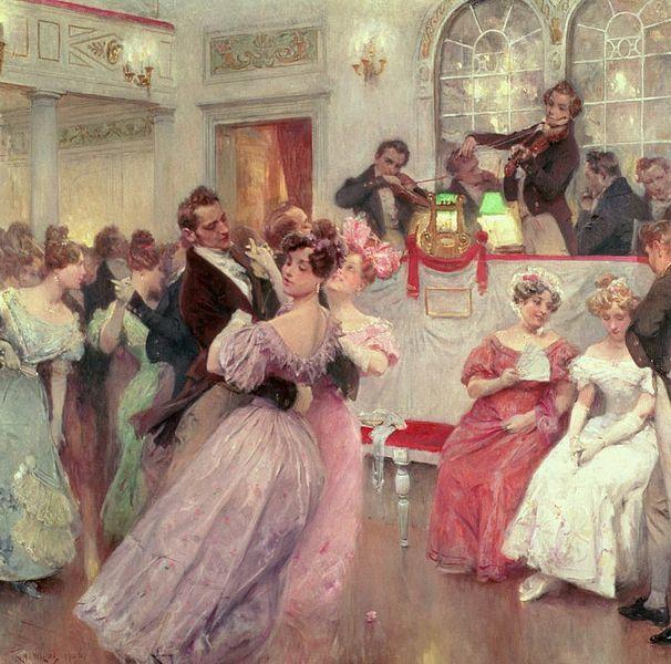 Wilda, Charles, (1854-1907), The Ball, 1906