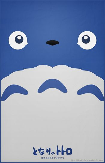 Totoro Poster - Chu Totoro by ~Nortiker on deviantART