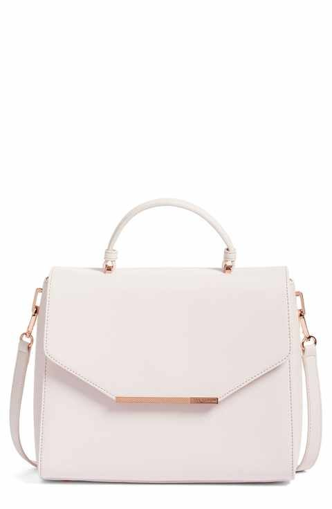 Ted Baker London Large Dajana Faux Leather Top Handle Satchel (Nordstrom Exclusive)