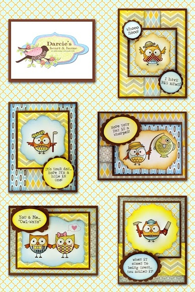 New Darcie's Stamps May 2013
