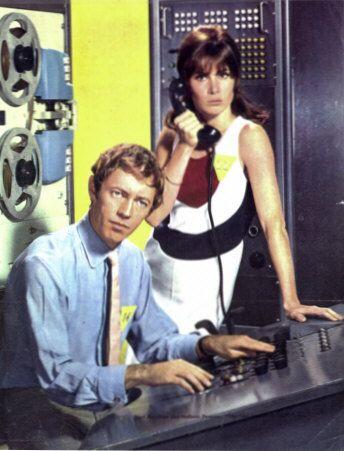 The Girl from U.N.C.L.E. - (1966-67). Starring: Stefanie Powers, Noel Harrison