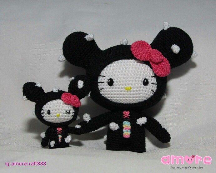 Mini Hello Kitty Amigurumi : 17 Best images about Amigurumi on Pinterest Hello kitty ...