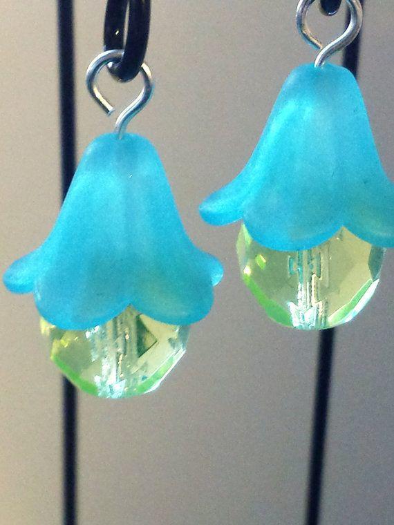 Fairy tuin miniatuur lantaarns. Set van 2. Turquoise blauw opknoping miniatuur lantaarns shepherd
