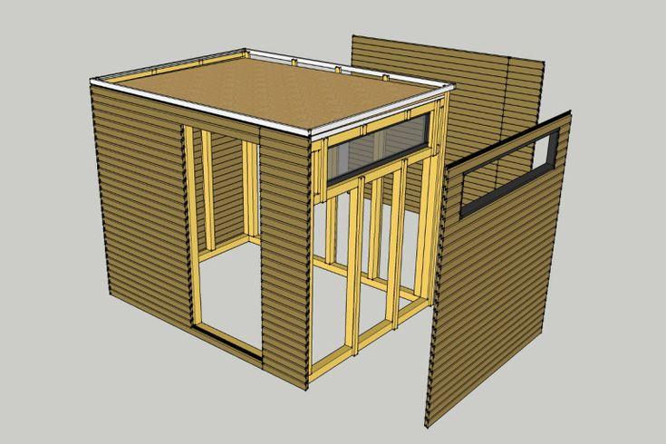 die besten 25 schuppen selber bauen ideen auf pinterest paletten schuppen selbstgebauter. Black Bedroom Furniture Sets. Home Design Ideas