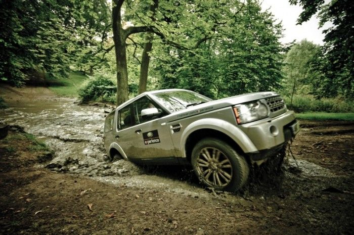 Corporate event with Land Rover Experience