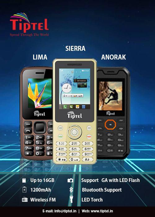 #TiptelMobiles #TiptelSierra #TiptelAnorak #TiptelLima Know more: www.tiptel.in