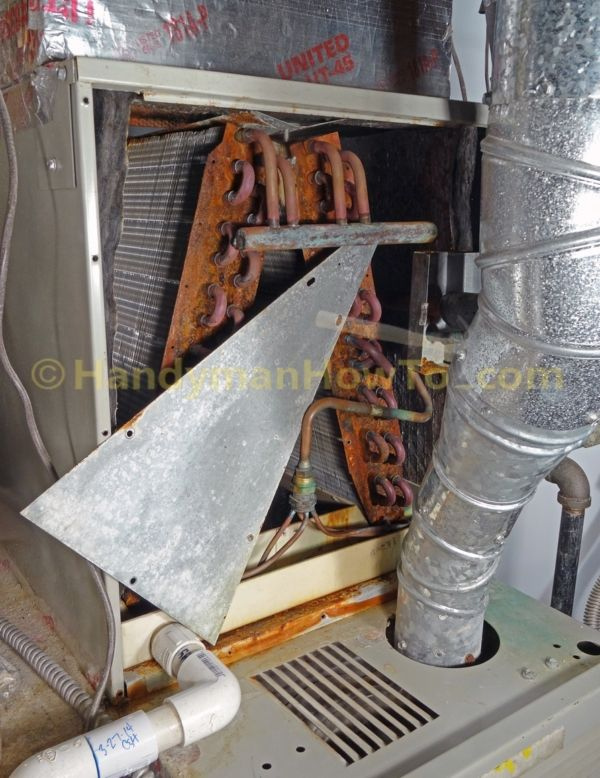 Ac Evaporator Coils Wiggle Out The Cover Plate Air Conditioner Repair Cleaning Ac Coil