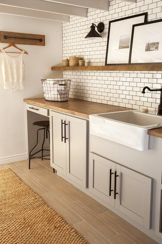 Best 25+ Farmhouse Laundry Rooms Ideas On Pinterest | Laundry Room, Utility  Room Ideas And Farmhouse Laundry Room Part 32