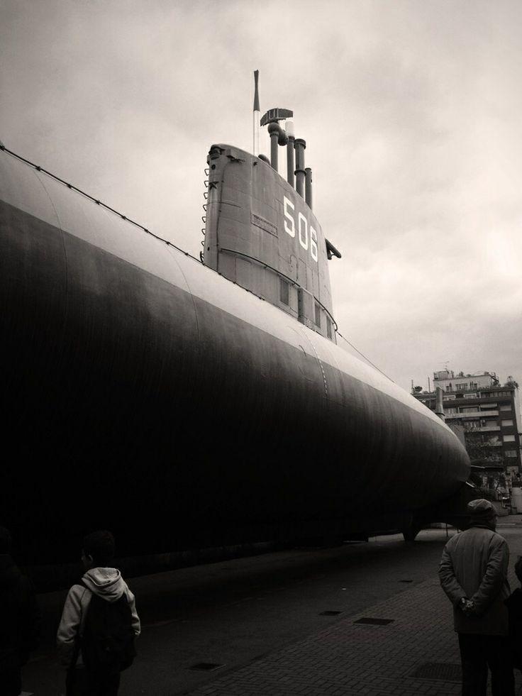Sottomarino Toti - Museo Scienza e tecnologia - Milano
