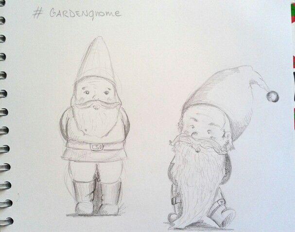 My garden gnomes.  Boldrin Elisa