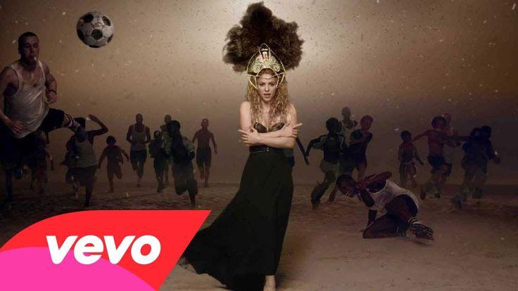 Shakira - La La La :  (Brazil 2014) ft. Carlinhos Brown  (video saluting the world cup w/some great photography)