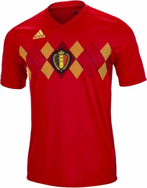 78710b620 2018 19 adidas Belgium Home Jersey. Hot at soccerpro.com