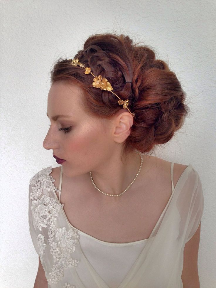 Luxe wedding hair by Heather Chapman.