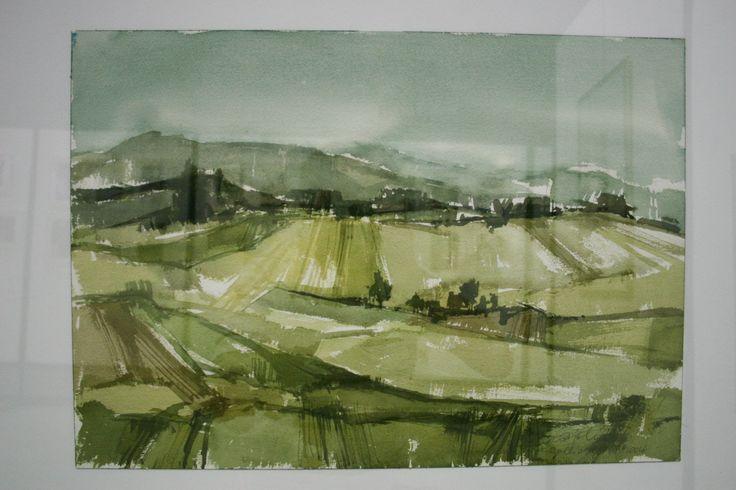 Gallio - acquerello di Sergio Bigolin