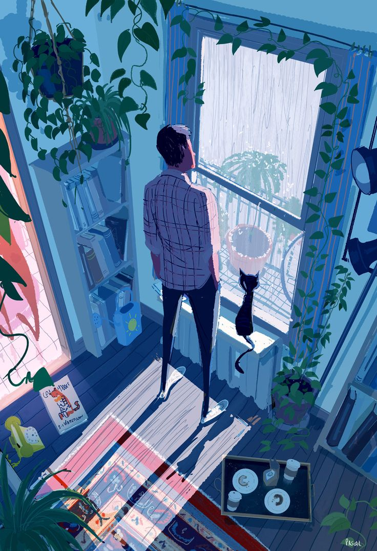 Pascal Campion, Rain drops.  I'm not sad, I just like watching the...