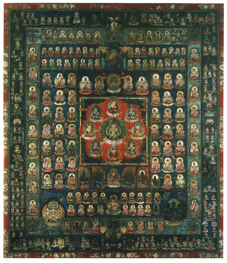 """""""The nine luminaries appear often in Japan's Taizōkai 胎蔵界曼荼羅 or Womb World Mandala. In the top right stretch of the outermost section, the sun and moon above several white horses are clearly visible. The luminaries' anthropomorphic representations became popular after the introduction of Buddhism to China (1st/2nd centuries CE)"""" www.onmarkproductions.com/html/28-moon-stations.html"""