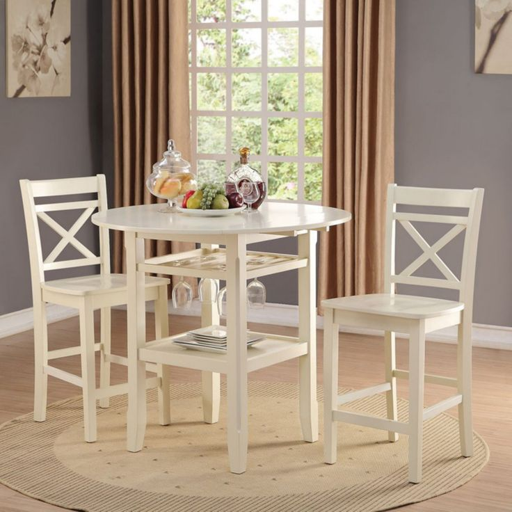 3pc Beige Yellow Sunflower And Butterfly Kitchen Cafe: Best 20+ Counter Height Dining Table Ideas On Pinterest