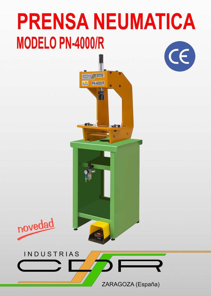 Prensa Neumática Modelo PN-4000/R