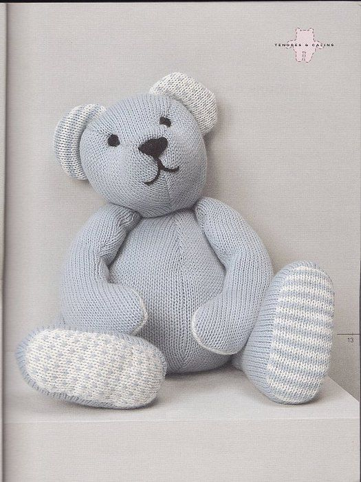 Knit Bear Pattern : 17 Best images about Knit toys (bears) on Pinterest Toys ...