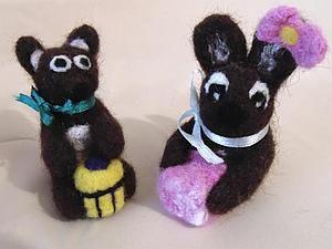 Часть 2. Коллекция войлочных игрушек нашла своих хозяев))   Ярмарка Мастеров - ручная работа, handmade