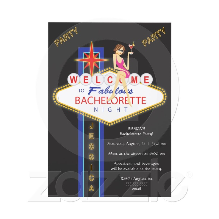 funny bachelorette party sayings for invitations%0A Vegas Bachelorette Party Invite