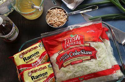 crunchy ramen noodle slaw