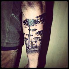 tatuajes de araucaria - Buscar con Google