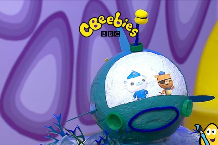 Perfect for the CBeebies Octonauts fan in your life, here's how to make a papier mache Gup-A. This takes you through the simple steps of a fun craft idea which will keep your little one entertained! Guide Kwazii and Captain Barnacles Bear from children's TV through the deep and on to new adventures!