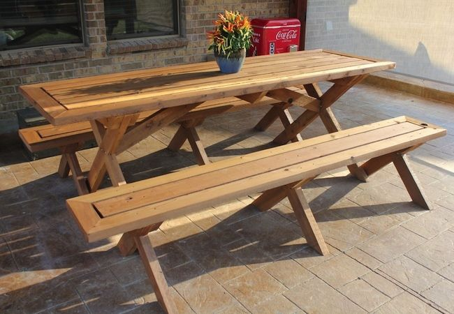 25 Unique Picnic Tables Ideas On Pinterest Diy Picnic